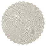 Crochet Round Placemat Nougat 16