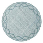 Tuileries Garden Placemat Ice Blue 15