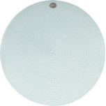 Round Medallion Millinery Placemat Ice Blue 15