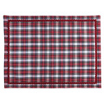 Plaid Placemat Red 19