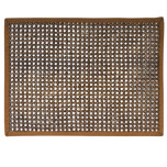Rectangular Caning Placemat Espresso/Brown 19