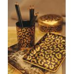 L'Objet Leopard Desk Accessories | Gracious Style