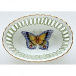 Anna Weatherley Butterfly Oval Dish