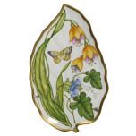 Giftware Summer Garden Leaf Tray 16 in