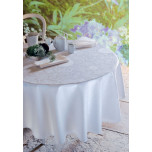 Appoline White Easy Care Table Linens | Gracious Style