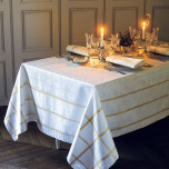 Tuileries Or Easy Care Table Linens