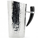 Mary Jurek Orion Water Pitcher with Buffalo Horn | Gracious Style Official Retailer