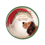 Old St. Nick Dog Bowl 7.25