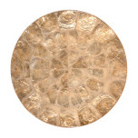 Round Capiz Shell Champagne Placemats