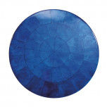 Round Capiz Shell Cobalt Placemats