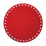 Grommet Border Red/White Placemats