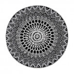 East West Placemats - Black/White