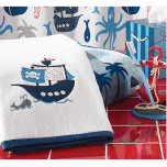 Bambini Pirates Bath Towels