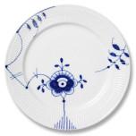 Blue Fluted Mega Dinnerware