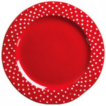 Rosso Vecchio Dot Dinnerware by Vietri | Gracious Style