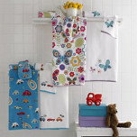 Bambini Butterflies Bath Towels