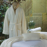 Resort Plush Bath Robe by Peacock Alley  | Gracious Style