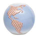 Globe 3.25 In H X 3.5 In D , Shaded Vh