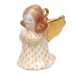 Small Praying Angel Ornament 1, Shaded Vhj