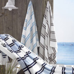 Spiaggia Marina Towel 40 x 70 in | Gracious Style