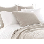 Stone Washed Linen Natural Bedding