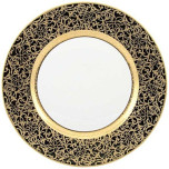 Tolede Black/Gold Dinnerware