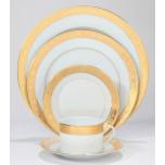 Deshoulieres Trianon Gold Dinnerware | Gracious Style