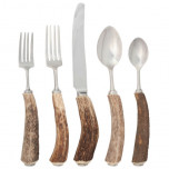 Antler Rustic Flatware | Gracious Style