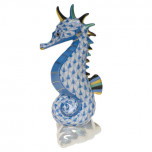 Sea Horse 4 In H, Fishnet Blue