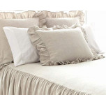 Wilton Natural Cotton/Linen Bedspread