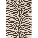 Zebra Tufted Wool Rug | Gracious Style