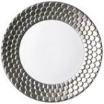Aegean Sculpted Platinum Dinnerware | Gracious Style