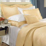 Alice Quilted Egyptian Cotton Coverlet | Gracious Style