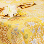Rialto Yellow Placemat 16 in X 20 in
