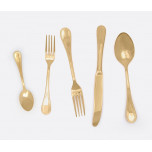Louisa Polished Gold Flatware