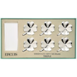 Clover Set of Six Clover Place Card Holders