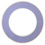 Color Block Lavender Platinum Dinnerware
