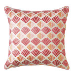 Prism Pillow 18 x 18 in Newport Red