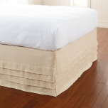 Waterfall Ivory Bedskirt