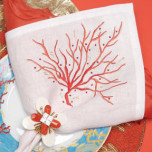 Kim Seybert Coral Red Embroidered Napkins | Gracious Style