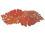Kim Seybert Coral Red Beaded Runner | Gracious Style