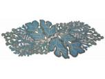 Kim Seybert Coral Turquoise Beaded Runner | Gracious Style