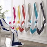Corsica Beach Towel 40 x 70 in | Gracious Style