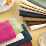 Festival Table Linens Classic Colors
