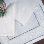 French Knot Table Linens | Gracious Style