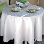 Mille Lumieres Boise Tablecloth Square 69 in, Coated