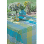 Garnier-Thiebaut Mille Alcees Narcisse Easy Care Table Linens