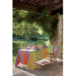 Garnier-Thiebaut Mille Patios Provence Easy Care Table Linens