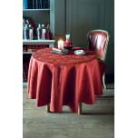Garnier-Thiebaut Mille Charmes Ruby Table Linens