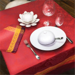 Isaphire Feu Easy Care Table Linens | Gracious Style